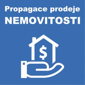 Propagace prodeje nemovitosti