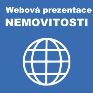 Webová prezentace prodeje nemovitosti